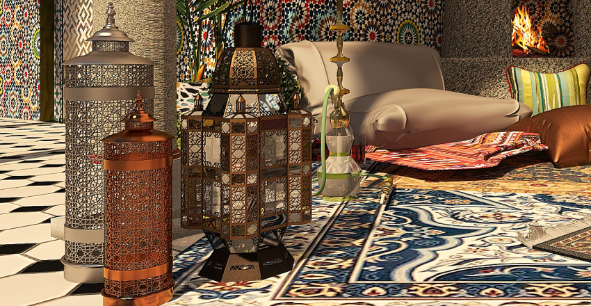 Arabesco Interior Design Render