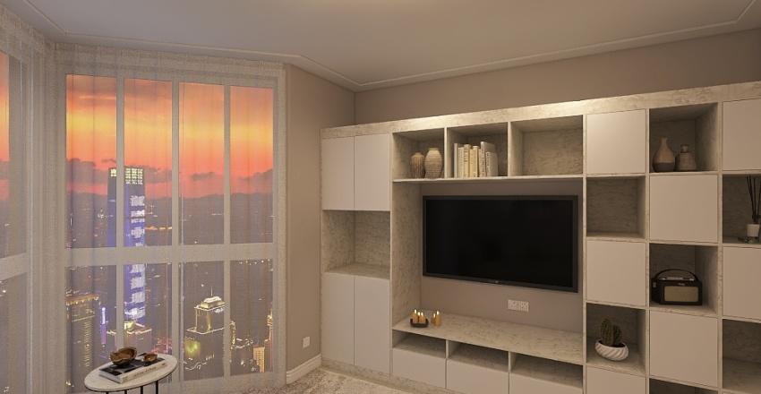 октябрьская Interior Design Render
