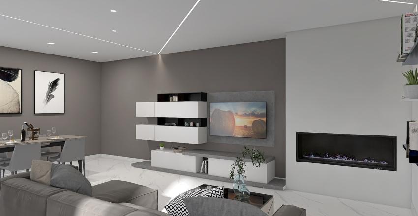 LivingRoom Interior Design Render
