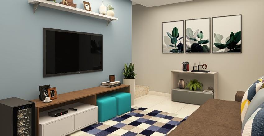 Alline | Sala | 14h | 21.08.21 Interior Design Render