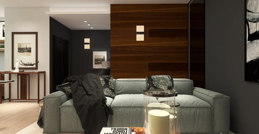 Apartment in Milan Interior Design Render
