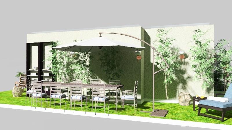 Casa indipendente nel verde  Interior Design Render