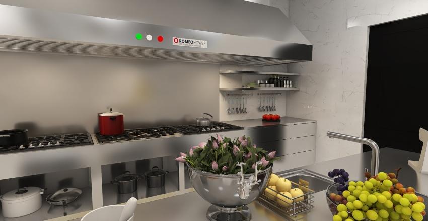 Fine Dining Restaurant - French Country Design Style Interior Design Render