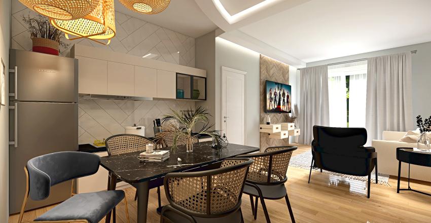 appartamento b3 piano terra Interior Design Render