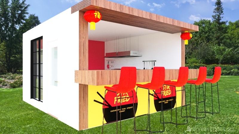 STIRFRIED Interior Design Render