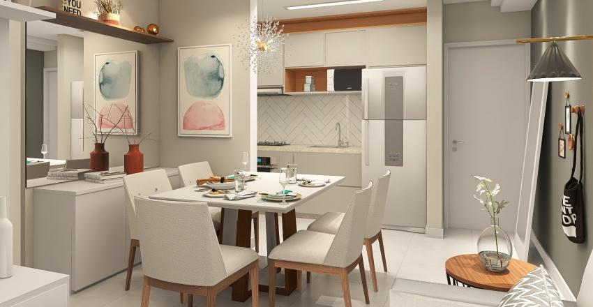 Gelici | Jantar e Estar | 01.08.21 | 14:00 Interior Design Render
