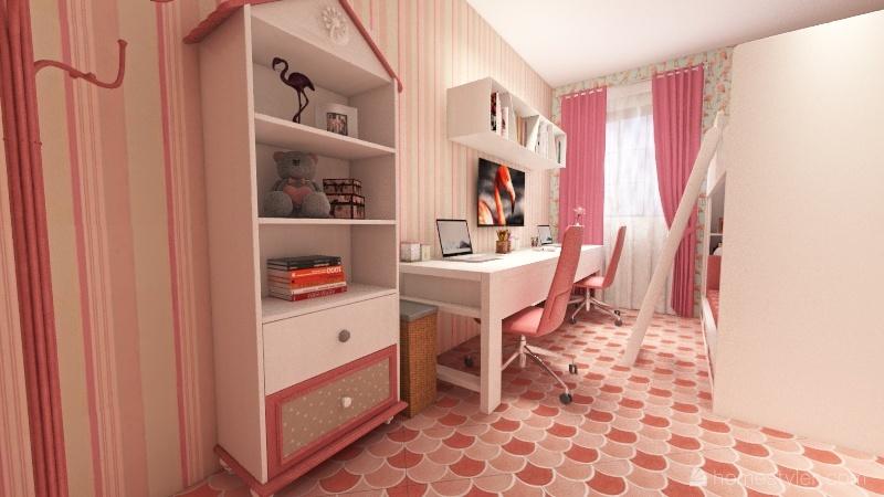M HOUSE! Interior Design Render