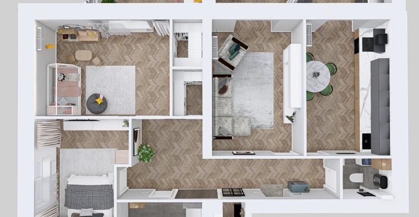 самый правильный 100м_copy Interior Design Render