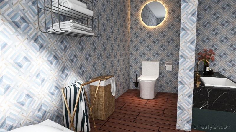 appartement atypique Interior Design Render