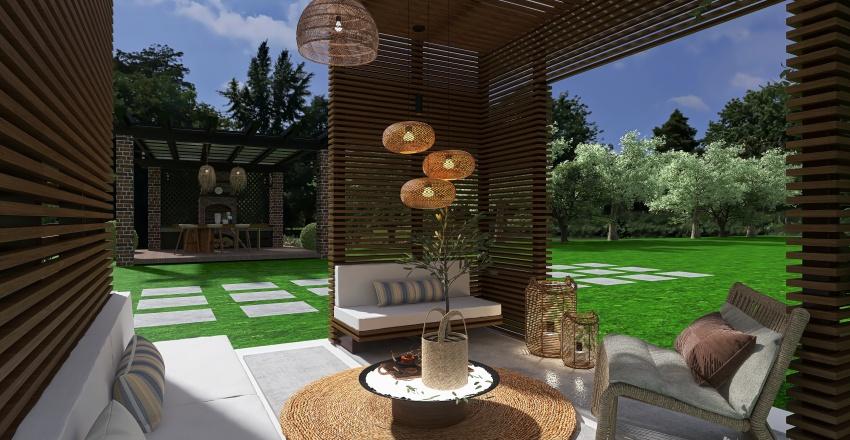 Infinity Pool Interior Design Render