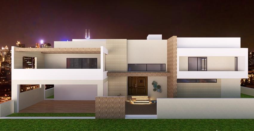 DHA Lahore Option 1 Interior Design Render