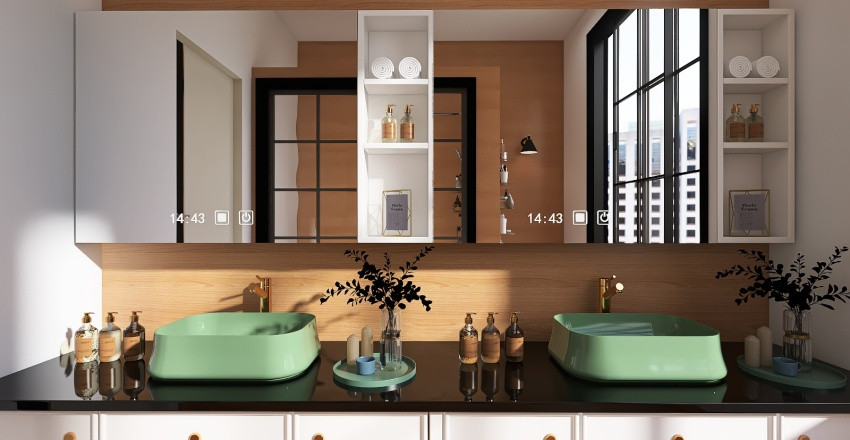 BANHEIRO 01 Interior Design Render