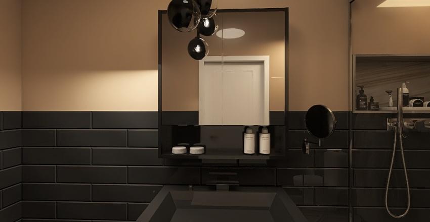 smart flat Interior Design Render
