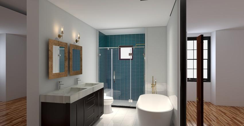 74 Perry St Interior Design Render