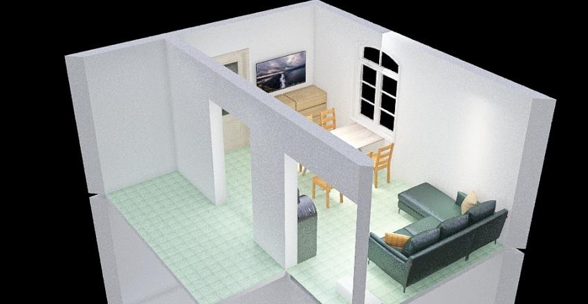 Mezőtúr Interior Design Render