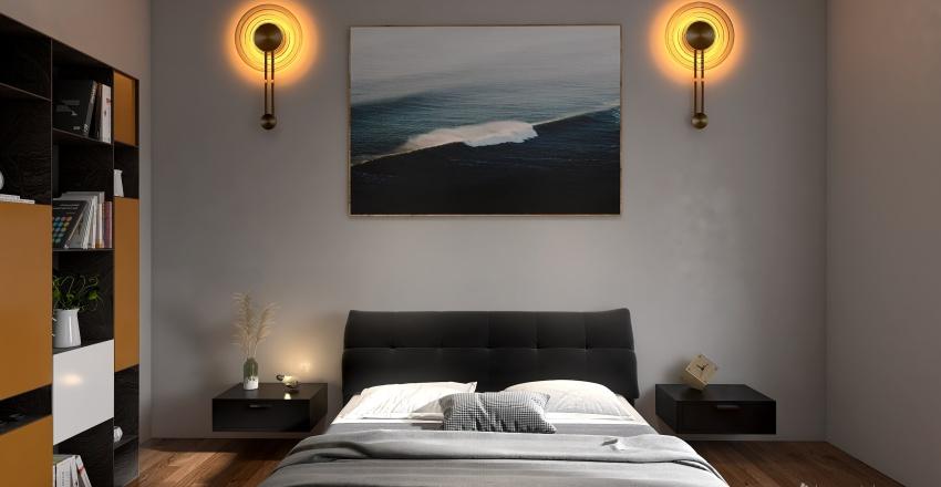 Project 1 - Bedroom Interior Design Render