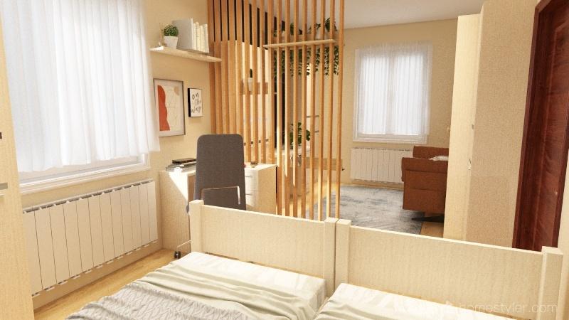 Zsani&Kitti Interior Design Render
