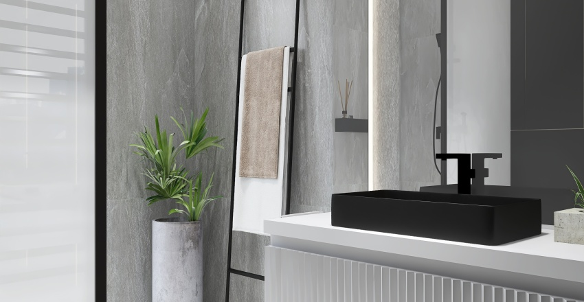 mała łazienka torano Interior Design Render