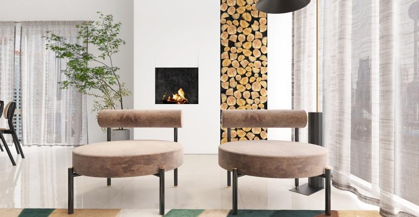 """""""metropolis"""" apartment Interior Design Render"""