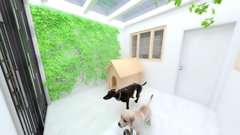 Luiz House Interior Design Render