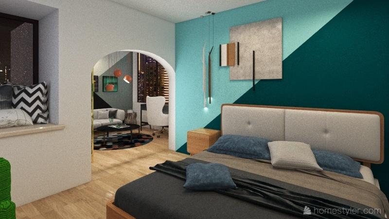 new start Interior Design Render