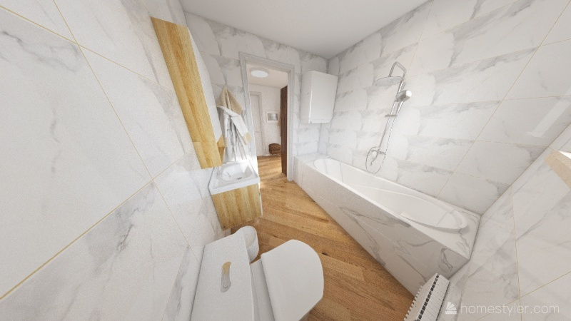WOHNUNG Interior Design Render