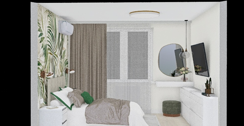 Copy of вера спальня Interior Design Render