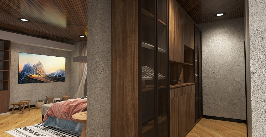 Casa na Floresta Teness Interior Design Render