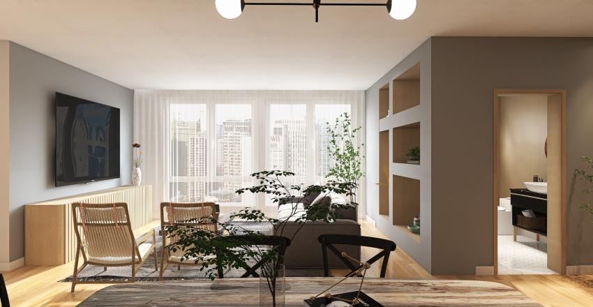 São Paulo Reno Interior Design Render