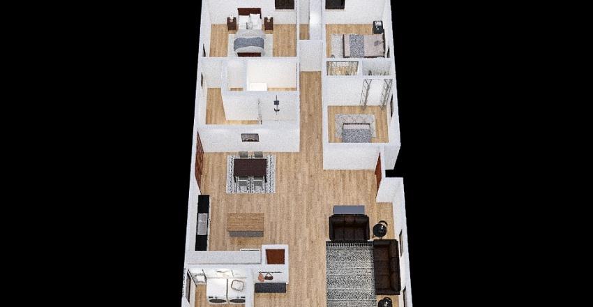 1199 Country Club Rd v5 Interior Design Render