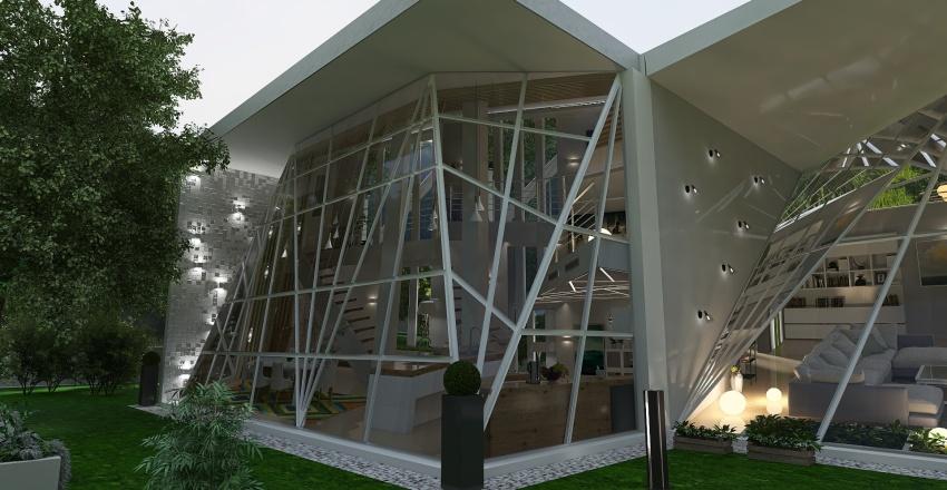 Greenery Residence Interior Design Render