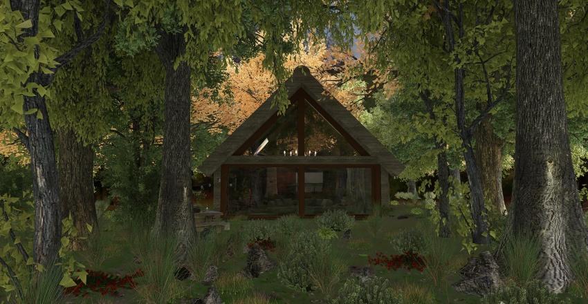 43 Huntingwood House Interior Design Render