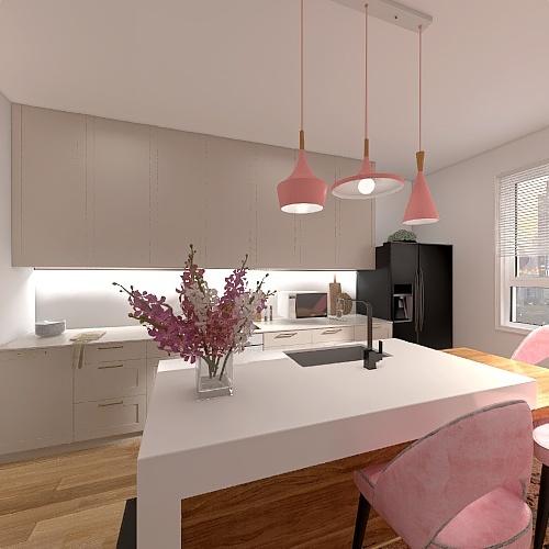 K.Pink Interior Design Render