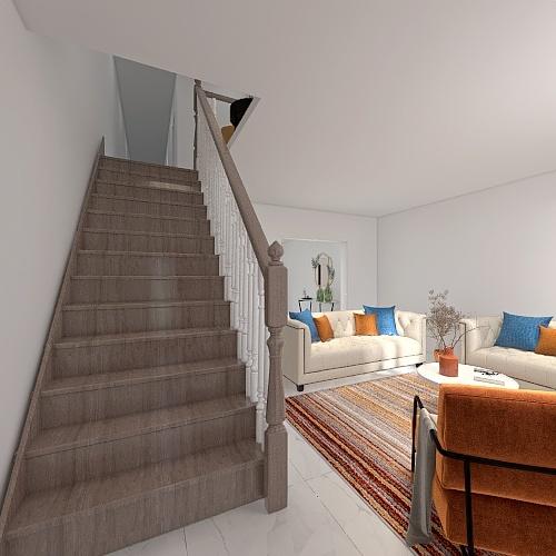 Casa de 2 andares Interior Design Render