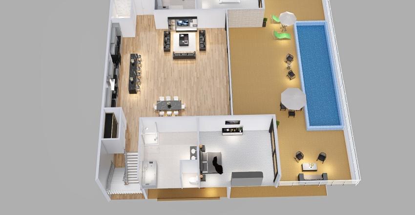 2FL_3R2P_cruzinbum Interior Design Render