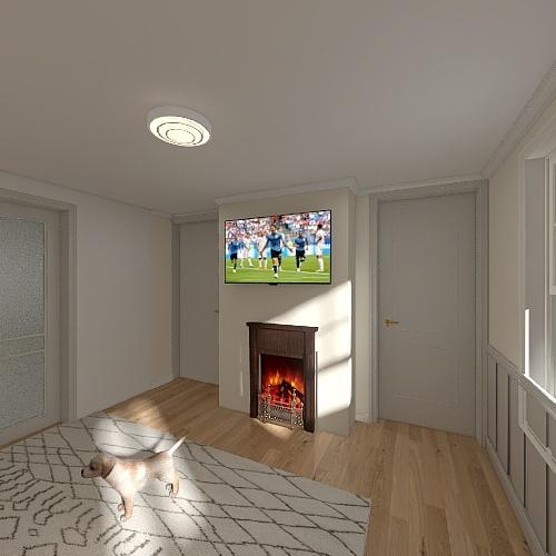 184 London Road Extension Interior Design Render