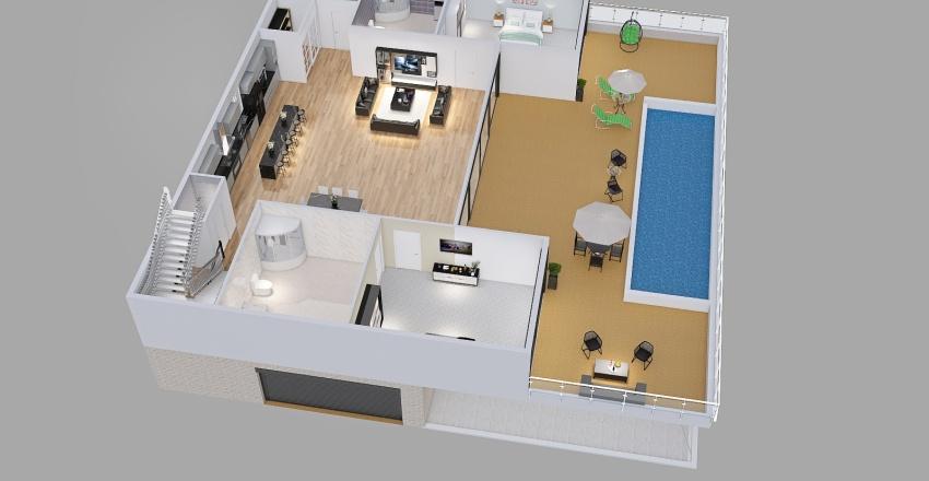 GR_3R2P_cruzinbum Interior Design Render