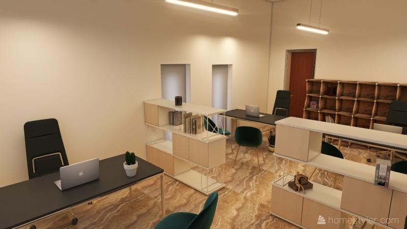 Office 01 Interior Design Render