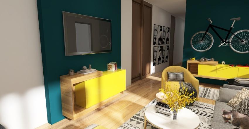 AN home Interior Design Render