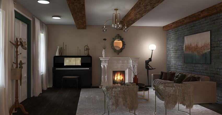 Casa Italiana Interior Design Render