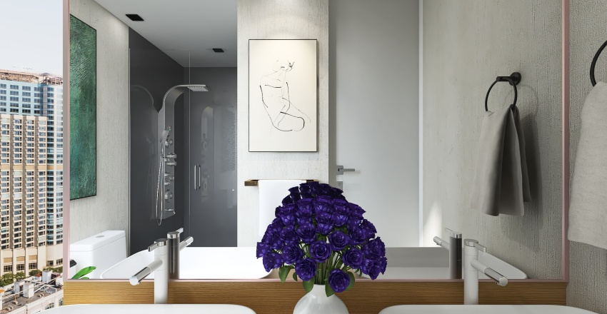 QUAROH APARTMENTS Interior Design Render