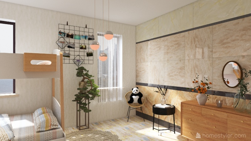 Tech homework. Interior Design Render