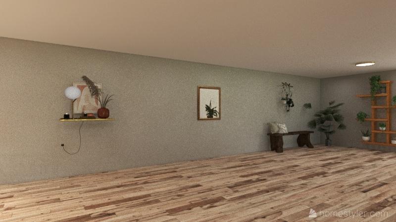 Big house Interior Design Render