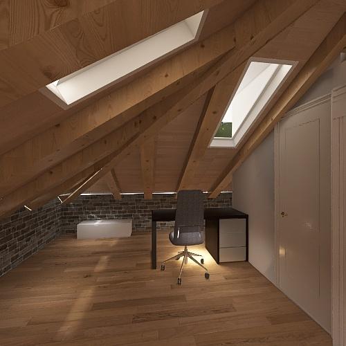 Atico Tximelarre37 Interior Design Render