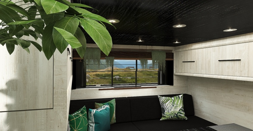 caravan Interior Design Render