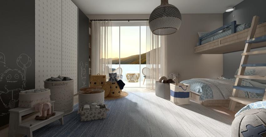 Villa Serena Interior Design Render
