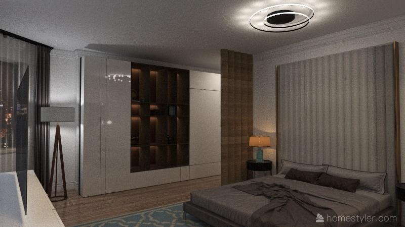 СОЧИ Пентхаус болванка Interior Design Render