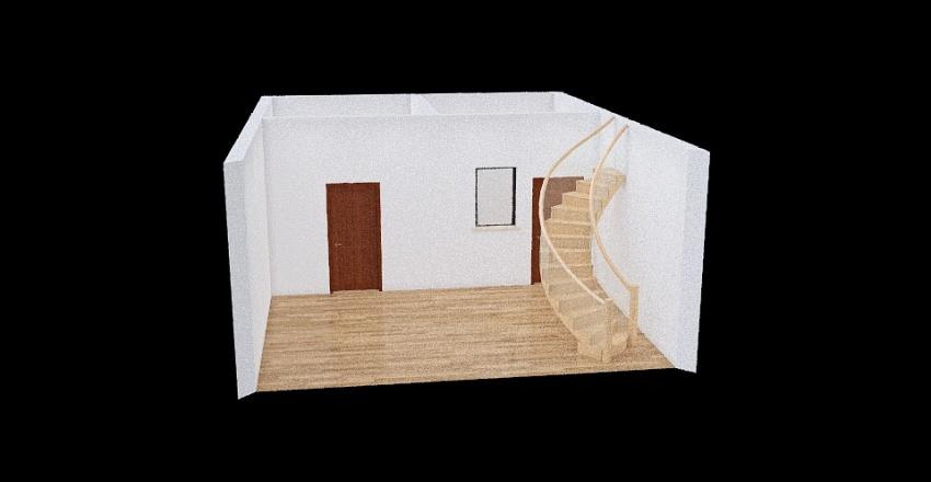 Copy of Room 1- Classic Black and White Interior Design Render