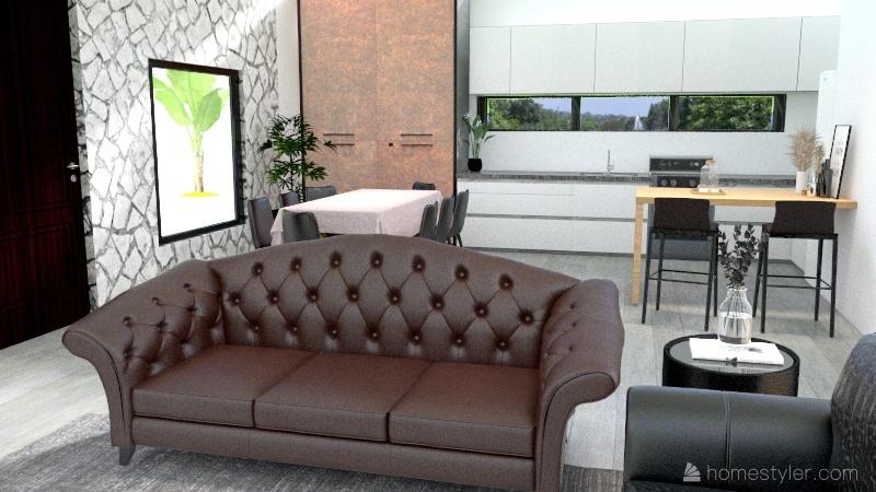 BRUNENGO M1 Interior Design Render