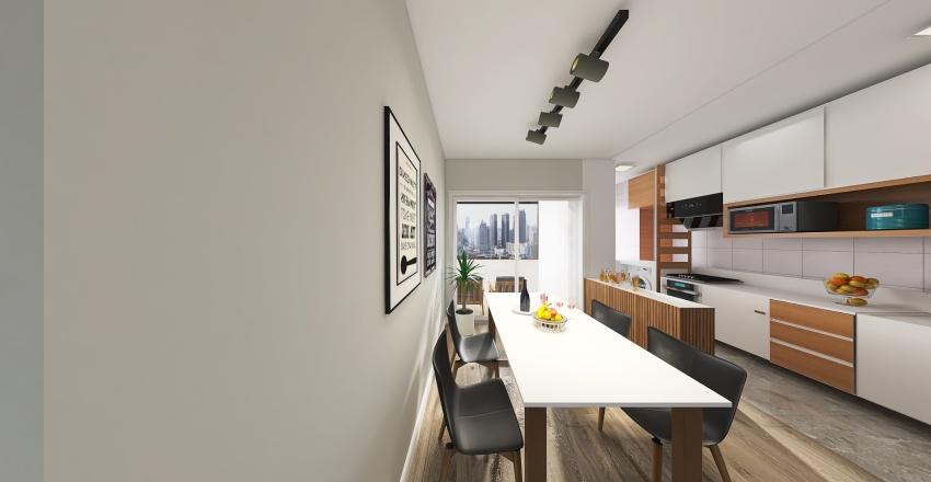 Cintia House Interior Design Render
